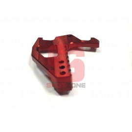 Extended Charging Handle CNC M4 Red [MCC]