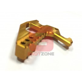 Extended Charging Handle CNC M4 Gold [MCC]