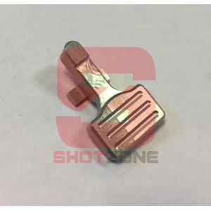 Bolt Catch aluminium CNC M4 silver [MCC]