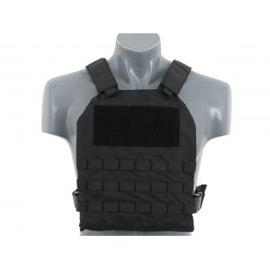 Simple Plate Carrier w Dummy Soft Armor bk [8Fields]