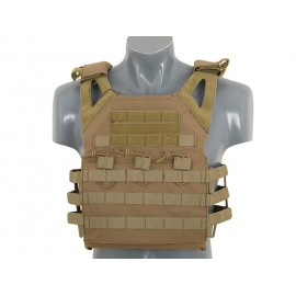 Jump Plate Carrier w dummy SAPI plates tan [8Fields]