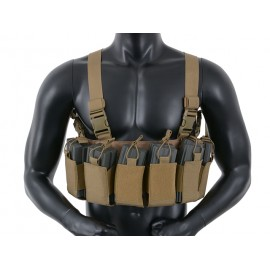 Chest Rig Open Top tan [8Fields]