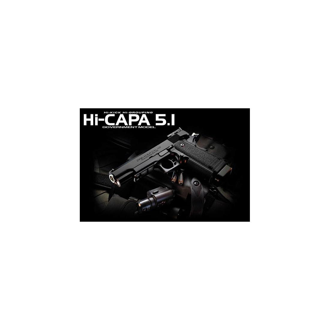 Pistola Hi-Capa 5.1 Government Gas Blowback [Tokyo Marui]