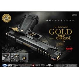 Pistola Hi-Capa 5.1 Gold Match Custom [Tokyo Marui]