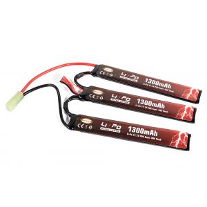 Bateria 11.1v 1100mAh 20-40C (3x 6.1x21x130) Li-Po [Ultra Power]