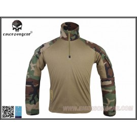 Combat Shirt G3 woodland EMERSON - XL