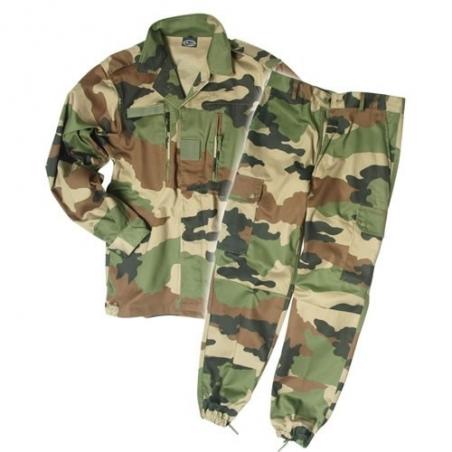 Uniforme camuflado CCE