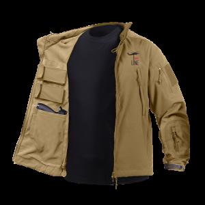 Jacket tactical tan – L