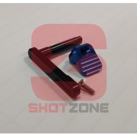 Magazine Catch CNC M4 blue [MCC]