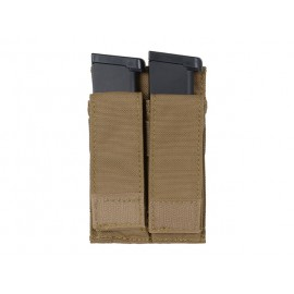 Double Pistol Mag Pouch tan [8FIELDS]