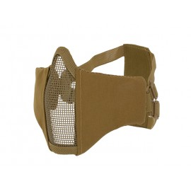 Half-Face Protective Mesh Mask 2.0 tan [CS]