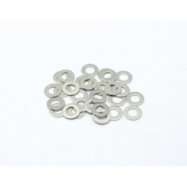 Shims Stainless Steel Precision 30pcs (0.1mm) [Dytac]