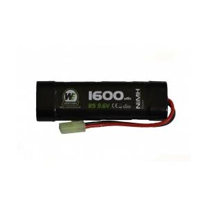 Bateria 9.6v 1600 NIMH small [NUPROL]