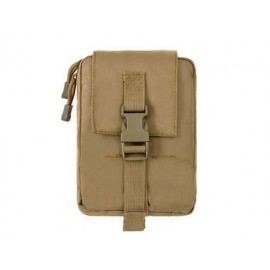 Tactical Medical Pouch Molle tan [8FIELDS]