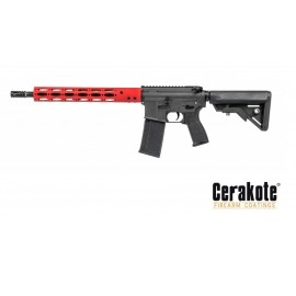 "AEG 14.5"" Ergo M4 Carbine GI Red Lone Star Edition [Evolution]"