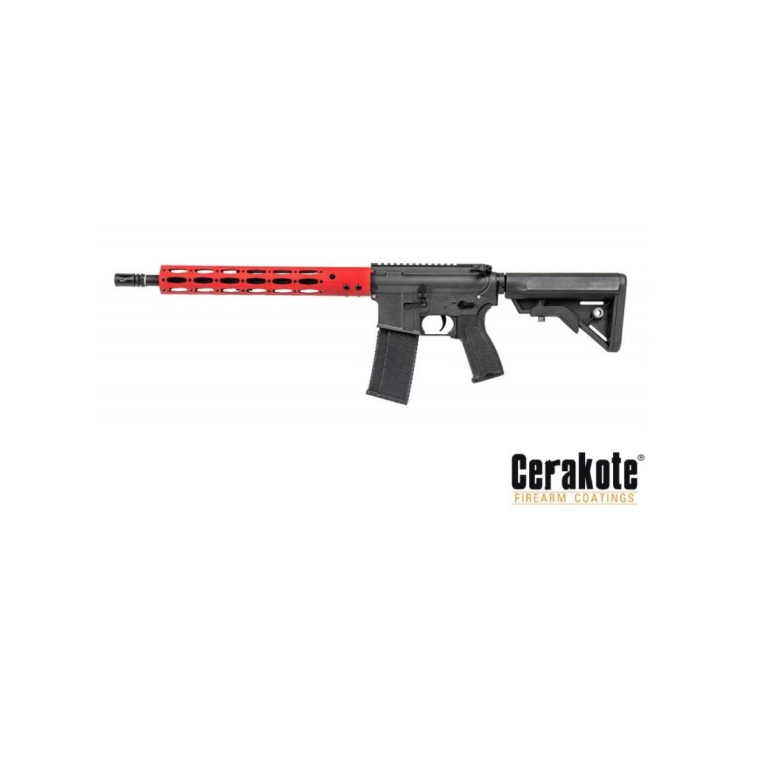 """AEG 14.5"""" Ergo M4 Carbine GI Red Lone Star Edition [Evolution]"""