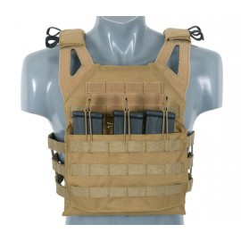 Jump Plate Carrier V2 w Dummy SAPI Plates coyote [8Fields]