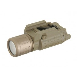 P-Light Weapon Mounted Flashlight 250 Lumen dark earth [Beta Project]