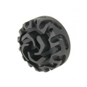 Cookie Cutter Compensator Flash Head 14mm CCW for AEG/GBBR (Type 3) bk [5KU]