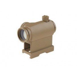 Red Dot T1 QD High/Low Mounts tan [Theta Optics]