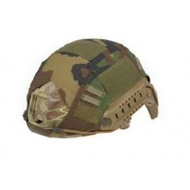 FAST Type Helmet Cover woodland [Ultimate Tactical]