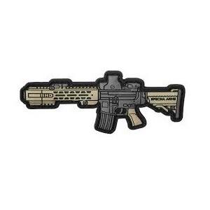 Patch 3D PVC Specna Arms Carbine bk/tan