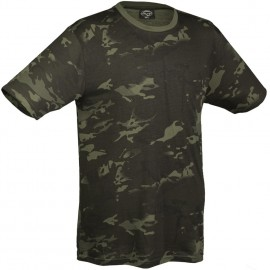 T-shirt Multicam Black S