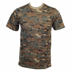 T-shirt Digital Woodland S