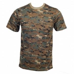 T-shirt Digital Woodland L