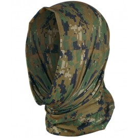 Multi Function Headgear Digital Woodland