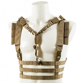 Chest Rig Molle Fast tan [Black River]