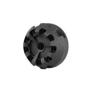Cookie Cutter Compensator Flash Head 14mm CCW for AEG/GBBR (Type 1) bk [5KU]