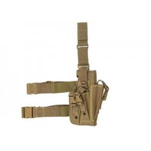 Universal Drop Leg Large Pistol Holster tan [8Fields]