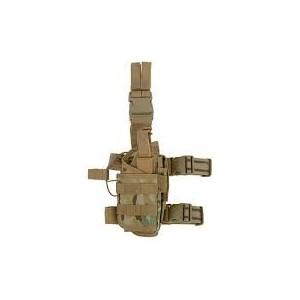 Tactical Drop Leg Holster w mag pouch multicam [8Fields]