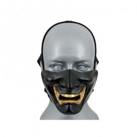 Samurai Mask bk/golden M