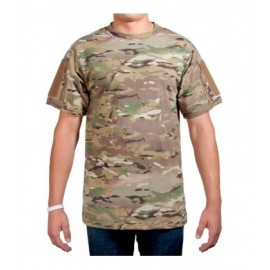 T-Shirt w Pockets & Velcro multicam XL