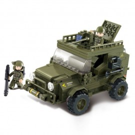 Blocos de montar Army Jeep (221pcs) [SLUBAN]