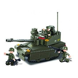Blocos de montar Leopard Tank (224pcs) [SLUBAN]