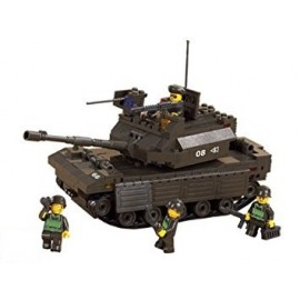 Blocos de montar Top-M1 Tank (212pcs) [SLUBAN]