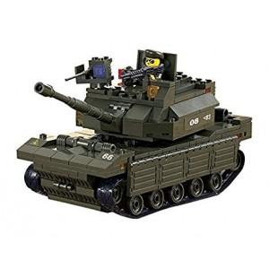 Blocos de montar Heavy Tank (312pcs) [SLUBAN]