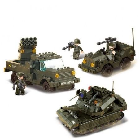 Blocos de montar Combat Forces (602pcs) [SLUBAN]