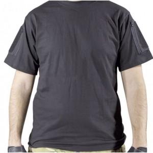 T-Shirt w Pockets & Velcro bk L