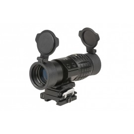 Magnifier Scope 3x35 bk [Theta Optics]