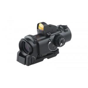 4x32E Scope w Micro Red Dot bk [Theta Optics]