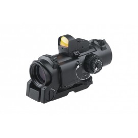 4x32E Scope w Micro Red Dot bk [Theta Optics]