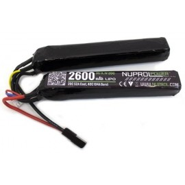 Bateria 11.1v 2600mAh Power (2 Stick) Li-Po [NP]