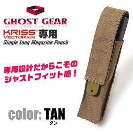 Single Kriss Vector Magazine Pouch coyote [Ghost Gear]