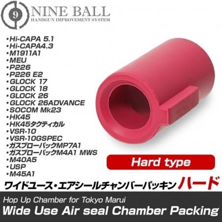Wide Use Air Seal Bucking for Tokyo Marui Pistol/VSR-10 (Hard Type) [Nine Ball]