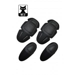 Knee & Elbow Pads Set bk [MadCat]