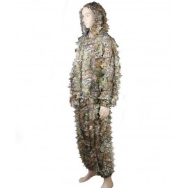 Ghillie Suit 3D Leaf Camo woodland